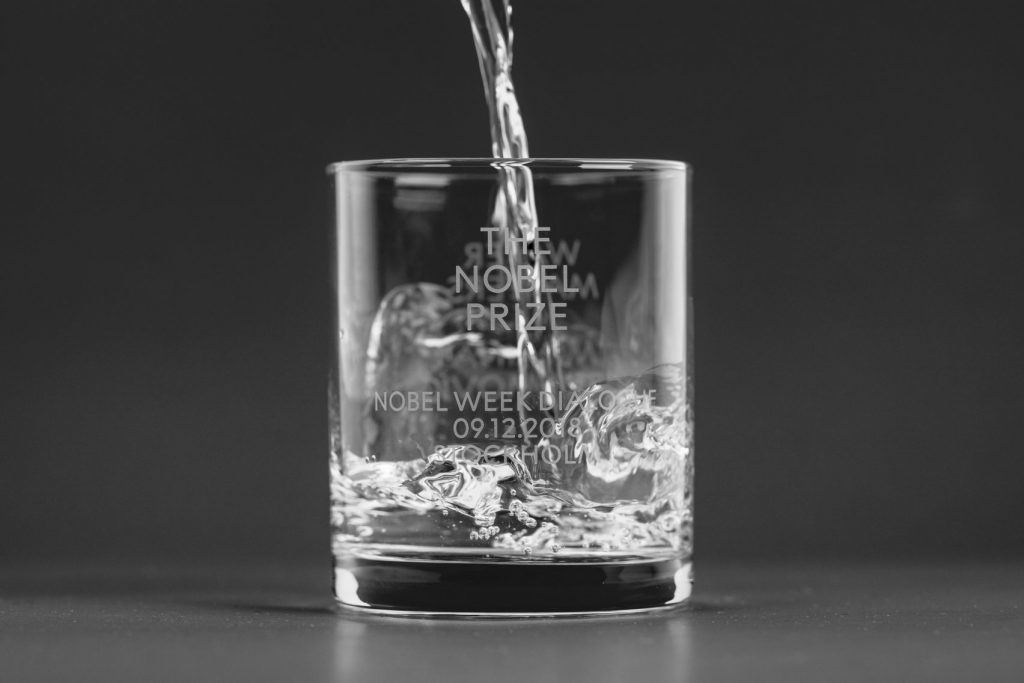 Noble Prize Glass Water
