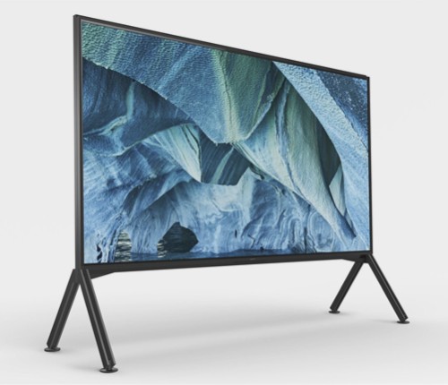 "Sony launches two ""super-large"" 8K TVs"